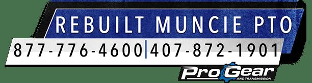 Přestavěn Muncie PTO Logo