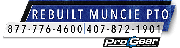 Rebuilt Muncie PTO logo