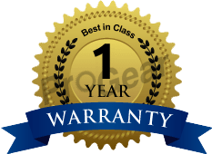 Muncie PTO one year warranty